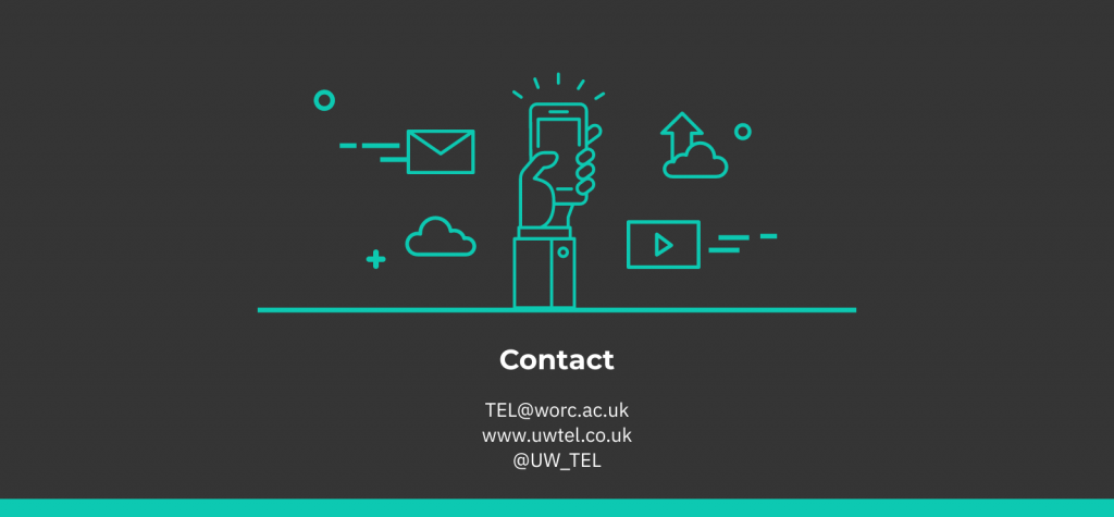 Infographic of TEL contact details