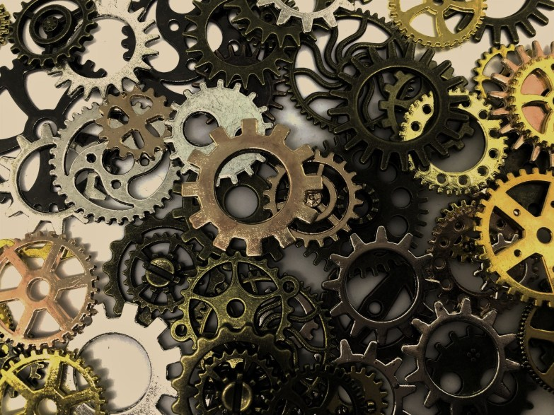Collection of cogs